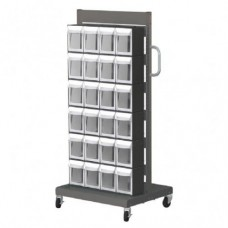 Mobile Stand Cart MS-24000 Double sides