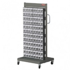 Mobile Stand Cart MS-28000 Double sides