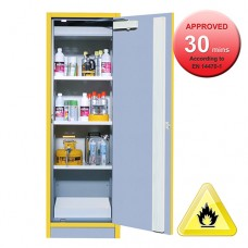 [30min Range] T3034E One Door Tall Flammable Cabinet